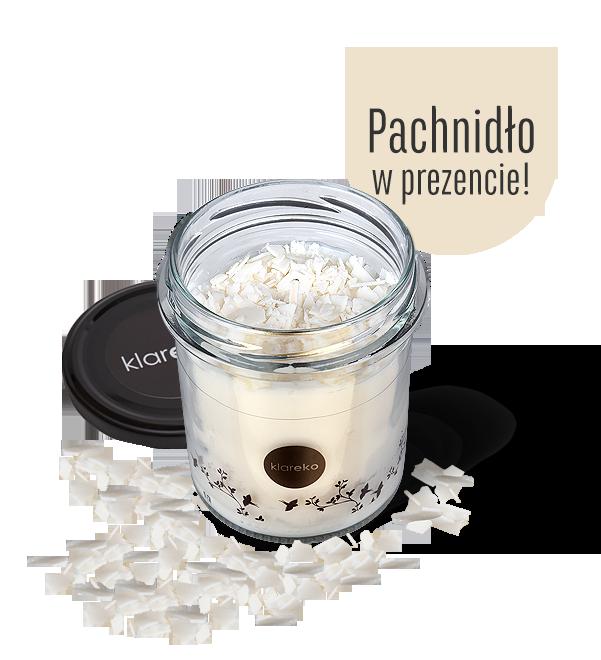 świece świecidło bezzapachowe 200g kupując otrzymasz pachnidło w prezencie klareko ekologiczne środki czystości czyli kosmetyki dla domu