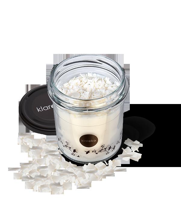świece zapachowe pachnące świecidło 80g Bezzapachowe klareko ekologiczne środki czystości czyli kosmetyki dla domu
