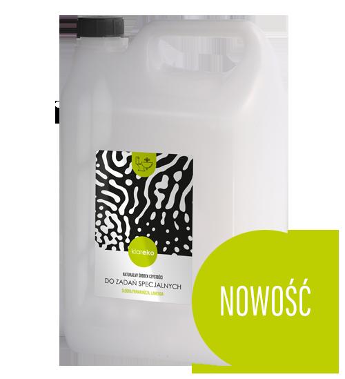 Do Zadań Specjalnych w opakowaniu uzupełniającym 5l Naturalne środki czystości klareko