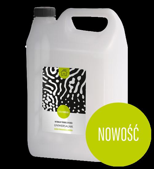 Naturalne środki czystości klareko Uniwersalnik 5 litrów Słodka Pomarańcza, Lawenda