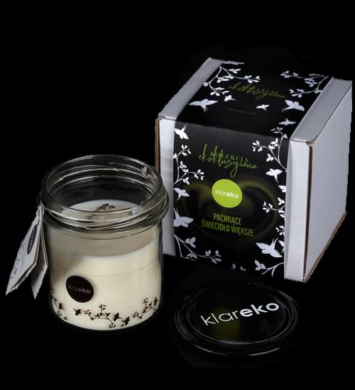 świece zapachowe sojowe pachnące świecidło klareko naturalne ekologiczne środki czystości czyli kosmetyki dla domu
